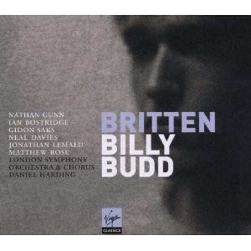 BOSTRIDGE/LEMALU/HARDING/LSO - BILLY BUDD 3 CD OPER KLASSIK NEU